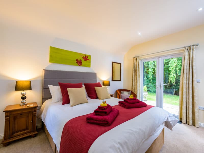 Master Bedroom - Buxted Sussex Holiday Cottage