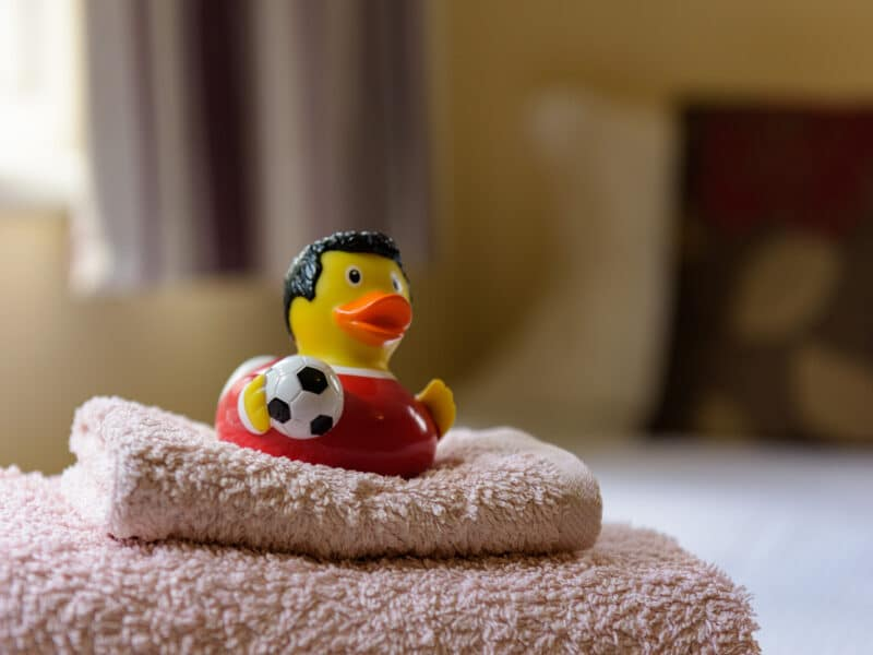 Towels Included - Buxted Sussex Holiday Cottage